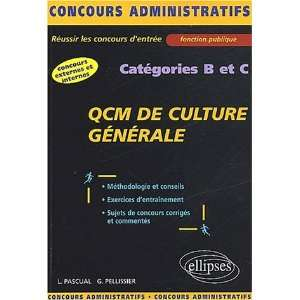 de culture generale cat.b&c (9782729810344) Pascual Dunoyer Books