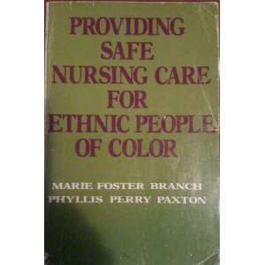 for Ethnic People of Color: Marie F.; Paxton, Phyliss P. Branch: Books