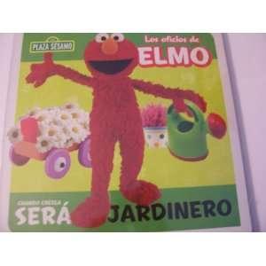 Plaza Sesamo Los Oficios de Elmo Libro del Rompecabezas ~ Jardinero