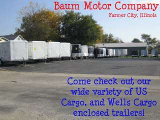 Enclosed Trailer 2012 Wells Cargo FASTTRAC 6x12 Ramp Enclosed Trailer