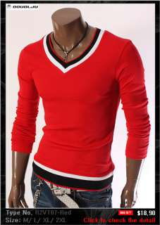 Doublju1 Mens Casual Best Knit Sweaters Collection
