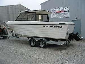 24 FT THOMPSON HARDTOP SPORT CRAFT DEEP WATER FISHING BOAT CHARTER I/O