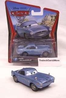 Disney Pixar CARS Movie 2 FINN McMISSLE new in pack. 027084964028