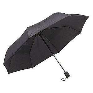 Umbrella Deluxe Super Mini Black   42 inch Health