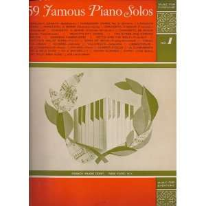 Piano Solos   Music for Everyone   No 1: Remick Music Corp: Books