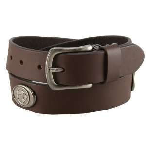 Pittsburgh Steelers Brown Leather Concho Belt  Sports