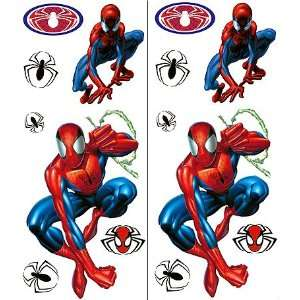 Marvel Spiderman Wall Decals   14 Spider Man Room Wall