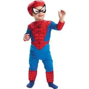 Spiderman Costume Classic Toddler Boy   Toddler 2T Toys & Games