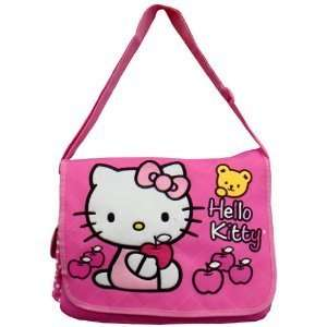Hello Kitty Messenger Bag (Pink W/bear)