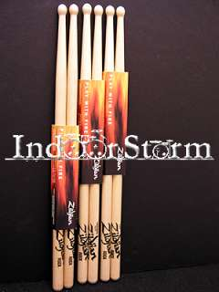 Pairs Zildjian Rock Wood Tip Hickory Drum Stick