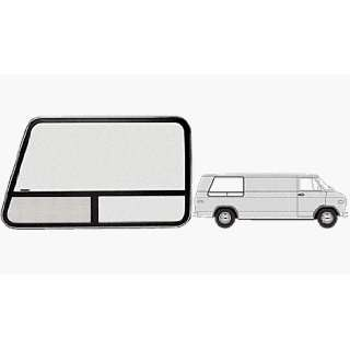 Passenger Side Rear 1971 thru 1996 Chevy/GMC Vans 41 5/16 x 29 3/8