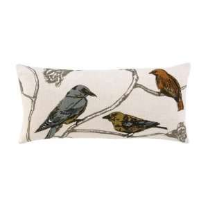 Chinoiserie Lumbar Pillow Home & Kitchen