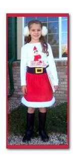 Elf on the Shelf~Angry Birds~Custom Boutique~Christmas Tee & Santa