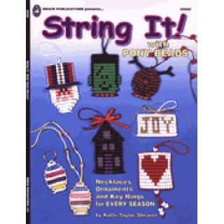 String It! with pony beads: Kathi Taylor Shearer:  Books