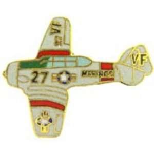 SNJ Marine Trainer Airplane Pin 1 1/2 Arts, Crafts