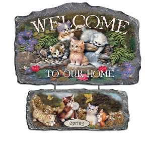 Cozy Companions Welcome Sign Wall Decor Collection