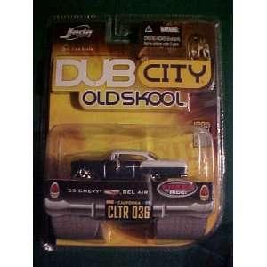 1955 Chevy Bel Air Dub City Old Skool Diecast: Toys