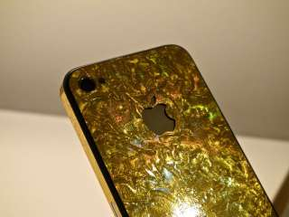 iPhone 4S Full Body Wrap Skin Kit Gold Leaf by Stickerboy Skins
