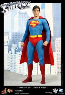 HOT TOYS SUPERMAN ACTION FIGURE CHRISTOPHER REEVE MOVIE MASTERPIECES