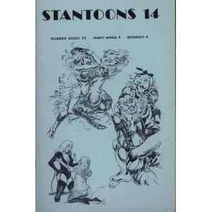 Affair 9, Sexorcist 4 Eric Stanton, Turk Winter, Marculeta Books