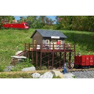 & SEED SHOP   PIKO G SCALE MODEL TRAIN BUILDINGS 62112 Toys & Games