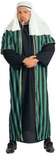 mens arab oil sheik costume shepherd robe toga halloween xl
