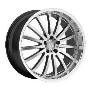 20x11 Mandrus Millenium (Hyper Silver w/ Mirror Lip) Wheels/Rims 5x112