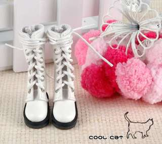 CoolCat, Blythe Pullip Shoes, Boots ( 14 04 ) White