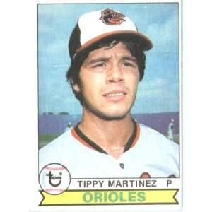 1979 Topps # 491 Tippy Martinez Baltimore Orioles Baseball
