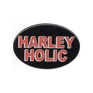 Knockout 123H Harley Holic Stock Hitch Covers Sports