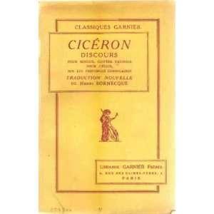 vatinius pour celius sur les provinces consulaires Ciceron Books