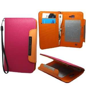 Mobile Palace   Pink Book Style (Faux) Leather Case Cover