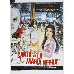 vs. Black Magic Woman Poster 27x40 Santo Elsa Crdenas Sasha Montenegro