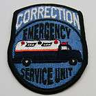 corrections badge