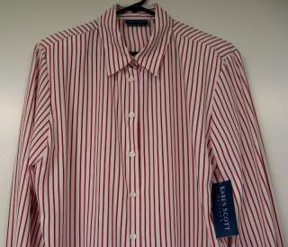 Karen Scott Petites Long sleeve Button front 100% polyester Color #1