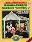 1982 Vtg Crochet Pattern Book Cabbage Patch Kids CPK Original Preemie