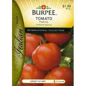 Burpee 69624 Italian   Tomato Matina Seed Packet Patio, Lawn & Garden