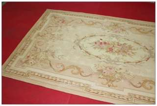 AUBUSSON AREA RUG Wool Woven ANTIQUE FRENCH PASTEL Custom Order Sizes