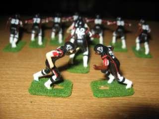 Tudor Electric Football Falcons D Stamped Helmet Custom Painted Turf