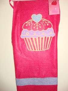 Valentine Romance Love Cute pink Apron blue heart design New