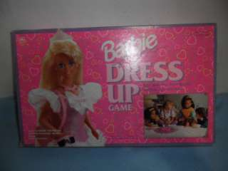 BARBIE FOR GIRLS DRESS UP GAME 1993