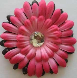 bulk wholesale 20pcs Baby 4inch Daisy Flower Hair Bow clip