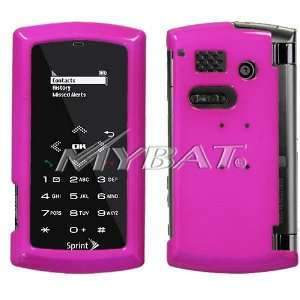 SANYO INCOGNITO 6760 HOT PINK SOLID HARD CASE COVER