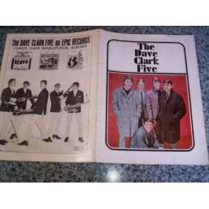 The Dave Clark Five Program Associated Booking Books