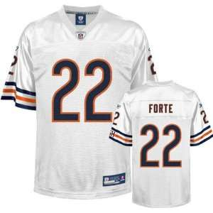 Matt Forte Youth Jersey: Reebok White Replica #22 Chicago