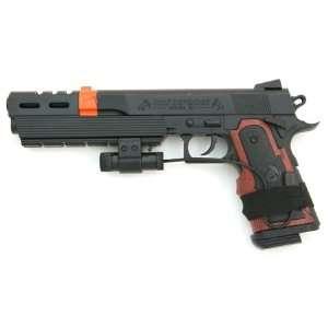 com Spring Colt 1911 Pistol FPS 200, Red Dot Laser Sight Airsoft Gun