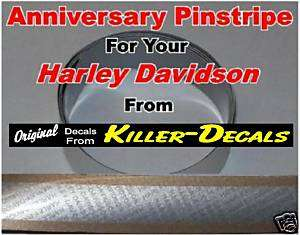 . SIDE PANEL STRIPES fits 2003 HARLEY DAVIDSON ANNIVERSARY Motorcycle