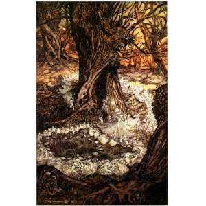 Gloss Stickers Arthur Rackham Midsummer Nights Dream