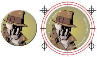 Button Pin Badge The Watchmen Rorschach AB38
