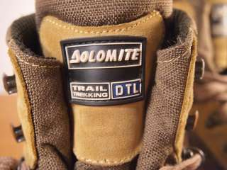 Vintage DOLOMITE Gore tex Romanian Trekking Boots 11